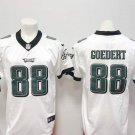 Men's Eagles #88 GOEDERT White Football Player Jersey Limited