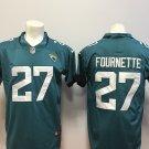 Jacksonville Jaguars Fournette 27th Men's Limted Football Jersey Teal