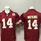 Kansas City Chiefs 14 Sammy Watkins Men's Football Limited Player Jersey