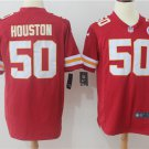 Justin Houston #50 Men's Kansas City Chiefs Limited Football Game Jersey