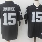 Michael Crabtree #15 Oakland Raiders Men's Limited Football Jersey