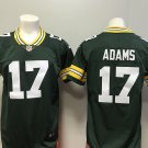 Green Bay Packers #17 Davante Adams Men's Football Player Jersey Limited