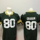 Jimmy Graham #80 Men's Green Bay Packers Limited Football Jersey