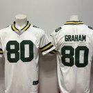 Men's Packers 80th Jimmy Graham Limited Football Jersey