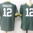 Aaron Rodgers 12th Men's Packer Green Football Game Jersey