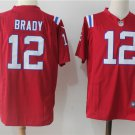 New England Patriots #12 Brady Men's Color Rush Football Game Jersey