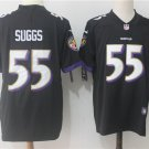 Men's Ravens 55th Terrell Suggs Football Player Jersey