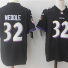 Men's Ravens Weddle #32 Football Player Jersey Limited