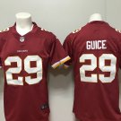 Men's Redskins 29th Derrius Guice Football Limited Jersey