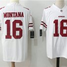 Joe Montana #16 Men's 49ers Football Player Jersey