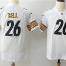 LeVeon Bell #26 Men's Steelers Football Jersey White