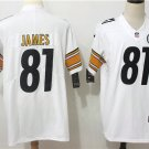 Men's Steelers Jesse James #81 Limited Player Jersey