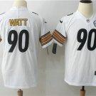 Pittsburgh Steelers Watt #90 Men's Football Player Jersey