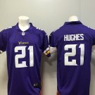 Mens Vikings Mike Hughes #21 Football Player Jersey Limited