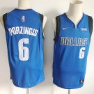 Dallas Mavericks Kristaps Porzingis #6 Men's Basketball Jersey Icon