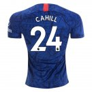 Cahill #24 Chelsea FC Home Soccer Jersey 19/20,CFC Men's Stadium Soccer Shirt Football Tops