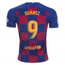 Suarez #9 Barcelona Home Soccer Jersey 19/20,La Liga Men's Soccer Stadium Shirt Soccer Football Tops