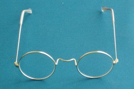 426 Round Santa Glasses