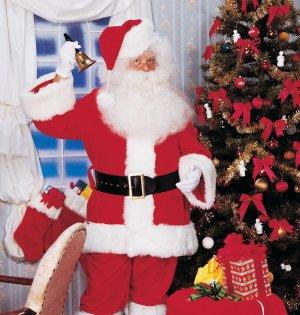 2354 XXL Supre Deluxe Santa Suit (Size 2X 58-60)
