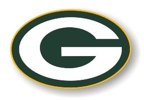 "Green Bay Packers 12"" Car Magnet"