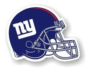 "New York Giants 12"" Car Magnet"