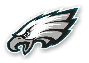 """Philadelphia Eagles 12"""" Car Magnet"""
