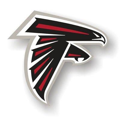 "Atlanta Falcons 12"" Car magnet"