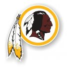 "Washington Redskins 12"" Car Magnet"