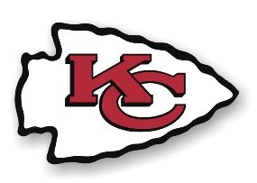 "Kansas City Chiefs 12"" Car Magnet"