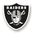 "Oakland Raiders 12"" Car Magnet"