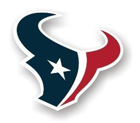 """Houston Texans 12"""" Car Magnet"""