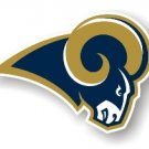 "Saint Louis Rams 12"" Car Magnet"