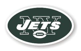 "New York Jets 12"" Car Magnet"