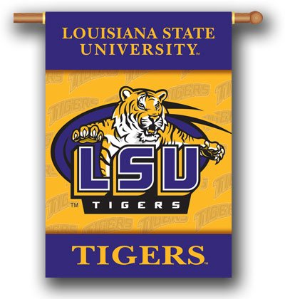 "Louisian State University LSU 28"" x 40"" Outdoor banner"