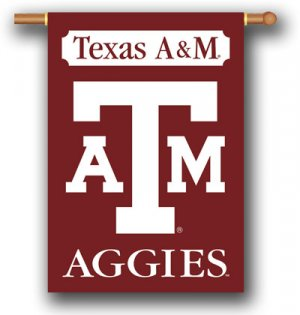 "Texas A & M  Aggies 28"" x 40"" Outdoor Banner"