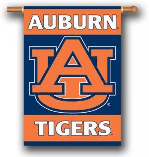 """Auburn Tigers 28"""" x 40' Outdoor Banner"""