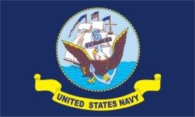 U.S. Navy Flag (3' x 5') Made of Nylon