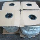 400 meter WHITE Door Window Brush Seal Weatherstrip Draft Cold Air stopper