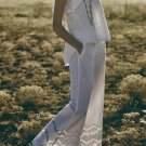 Anthropologie Openwork Wide-Legs Pants by Elevenses $148 Sz 2 - NWT