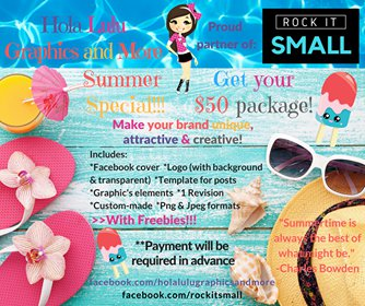 "ON SALE! 50% OFF ""Branding Summer Pack"""