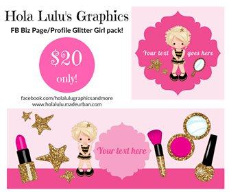 Glitter Girl pack #AW