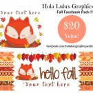 Hello Fall FaceBook pack