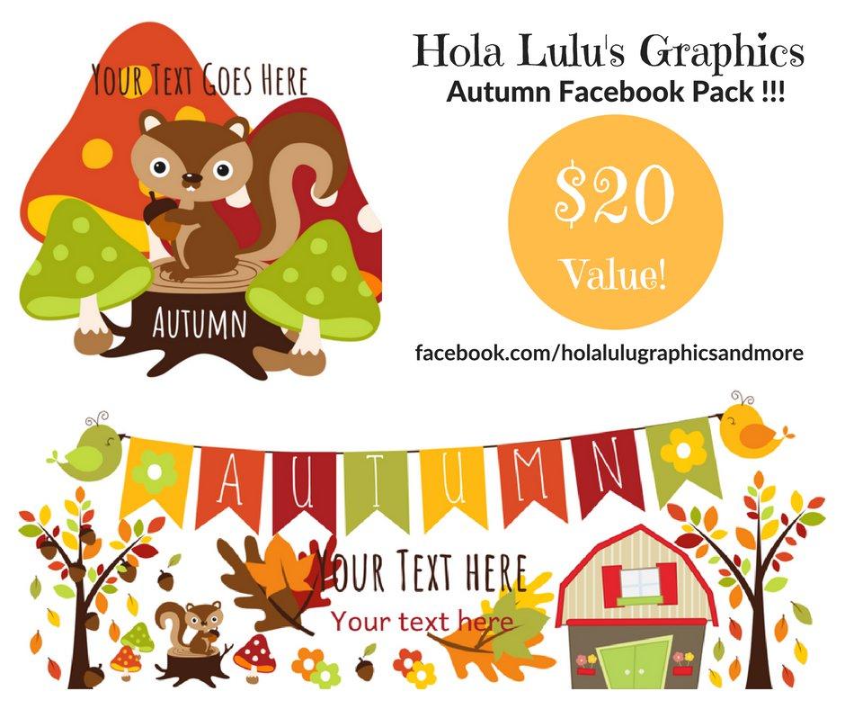 Autumn FaceBook pack