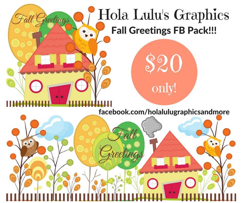 Falls Greeting Facebook Pack
