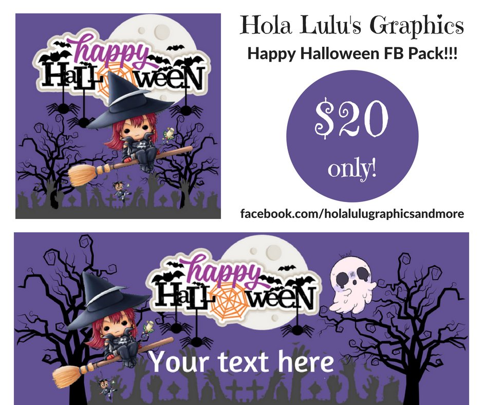 Happy Halloween FB pack