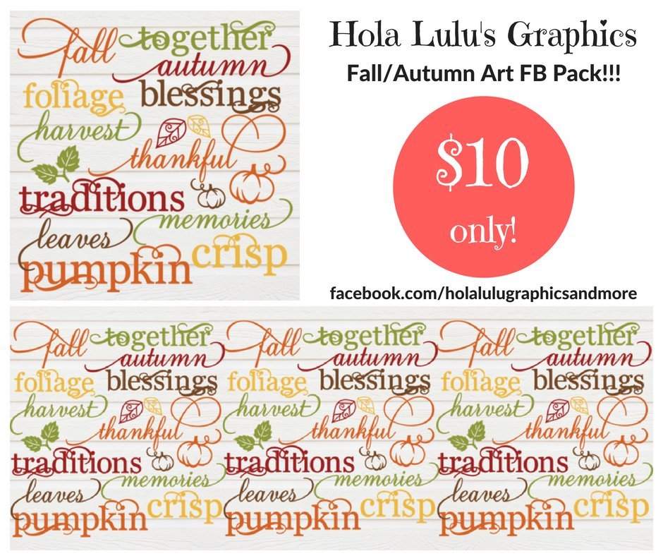 Fall/Autumn Art FB pack