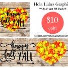 Happy Fall Ya'll FB pack