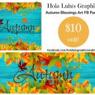 Autumn Blessings FB pack