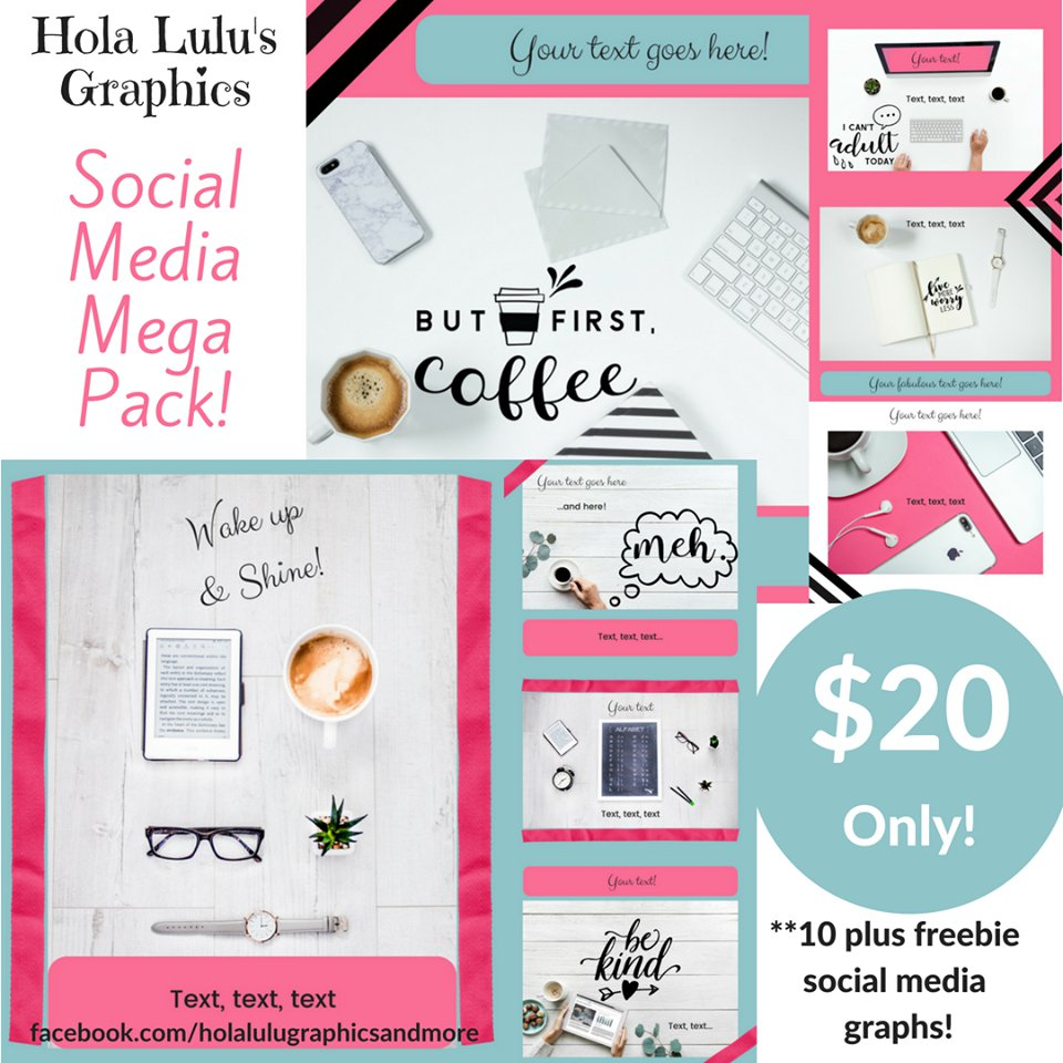 Coffee Break Social Media Mega Pack