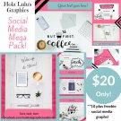 Coffee Break Social Media Mega Pack